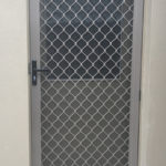 Hinged Diamond Grille Door
